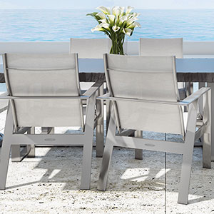 Castelle Trento Outdoor Patio Furniture