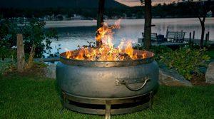 kettle drum fire pit