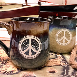 Fishy Peace Mugs