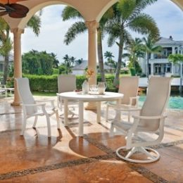 St. Catherine sling patio furniture